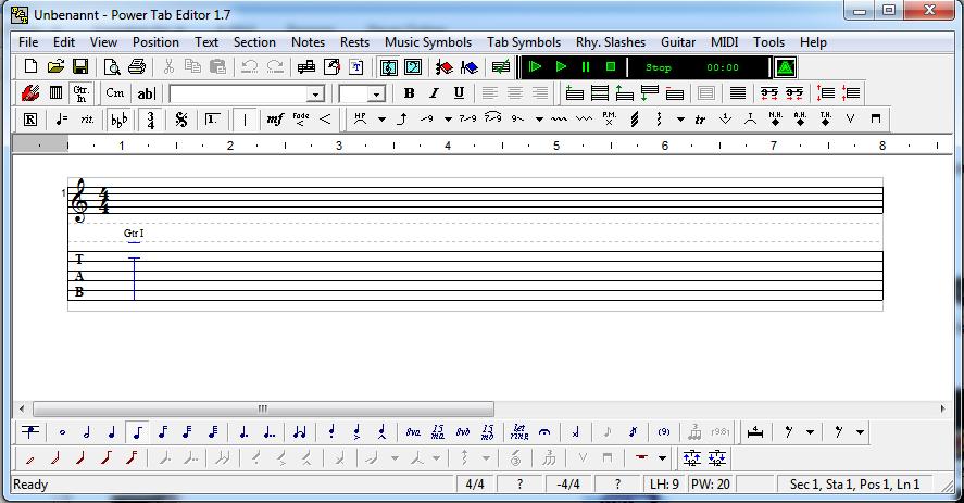 Power Tab Editor – Ganz easy eigene Songs zu Papier bringen | Magic ...