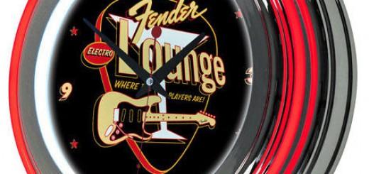 Fender-Neon-Clock